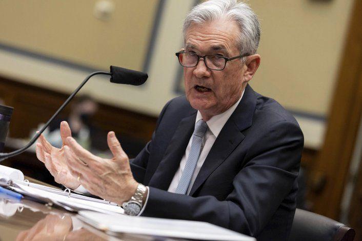 Powell: La inflación en EEUU será alta pero luego cederá