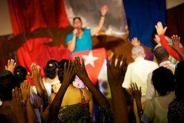 Un culto evangélico en Cuba. (Archivo)