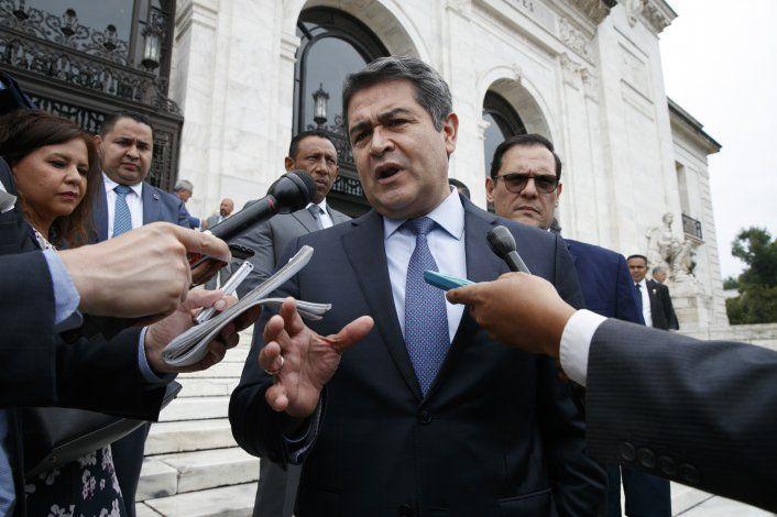 EEUU pide admitir en juicio fotos de presidente de Honduras