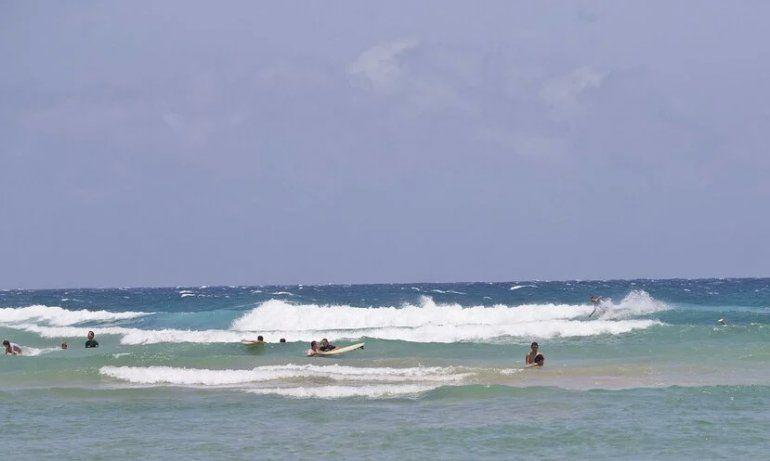 Precaución: extienden el riesgo alto de corrientes marinas en la playas del norte por una marejada