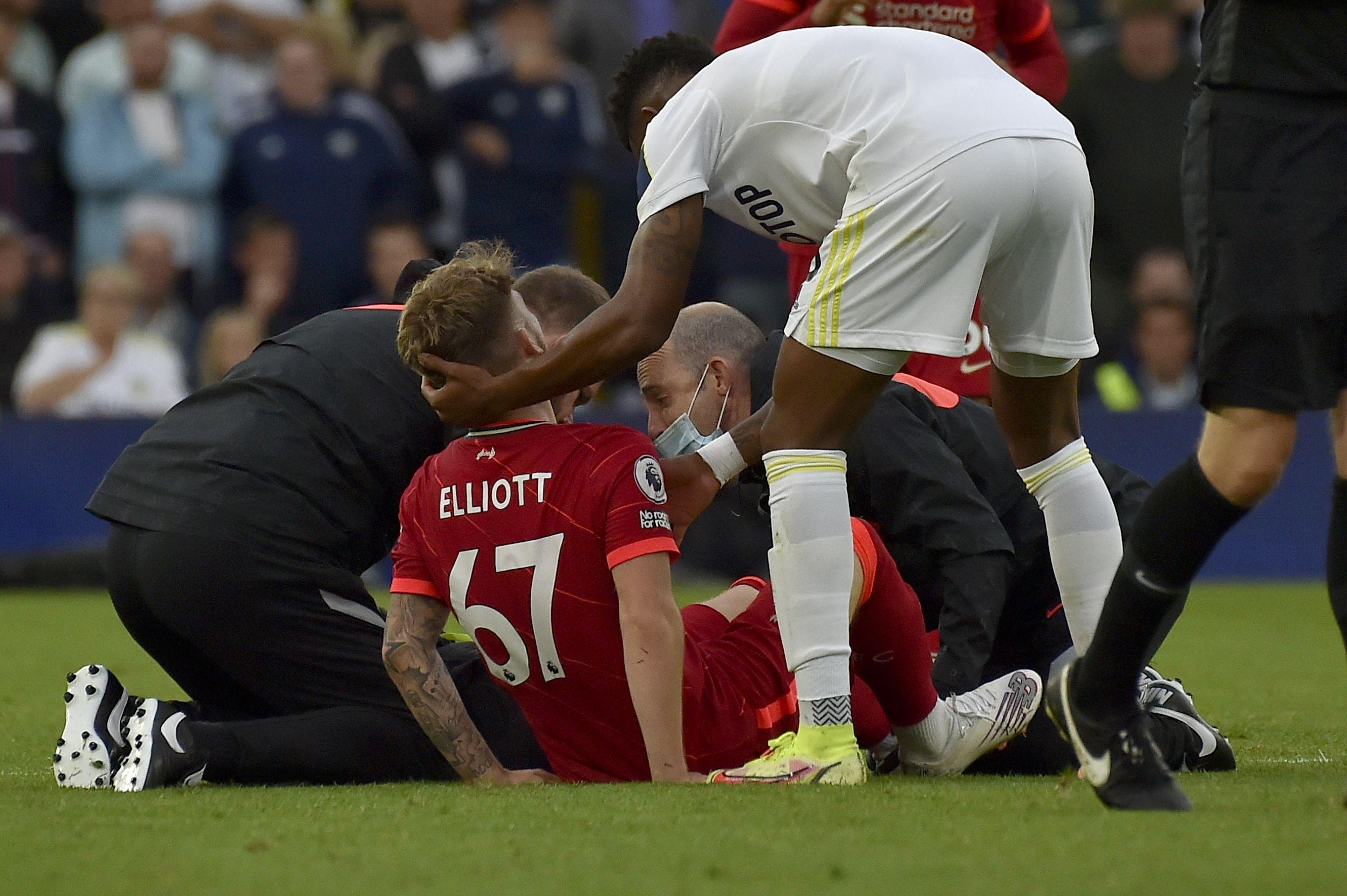 liverpool: elliott, operado de fractura en un tobillo