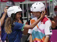 las ninas arrasan en el skate: chicas de 13 anos en la cima