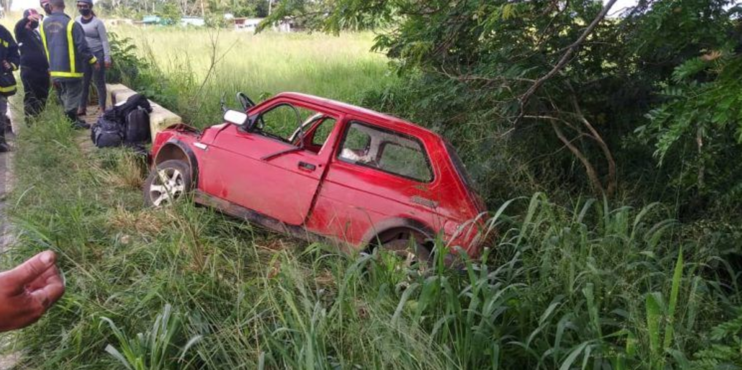un fallecido y tres lesionados graves en accidente de transito en artemisa