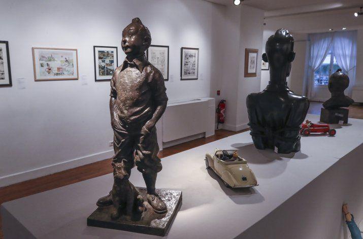 Arte de Tintín se subasta en París por millones de euros