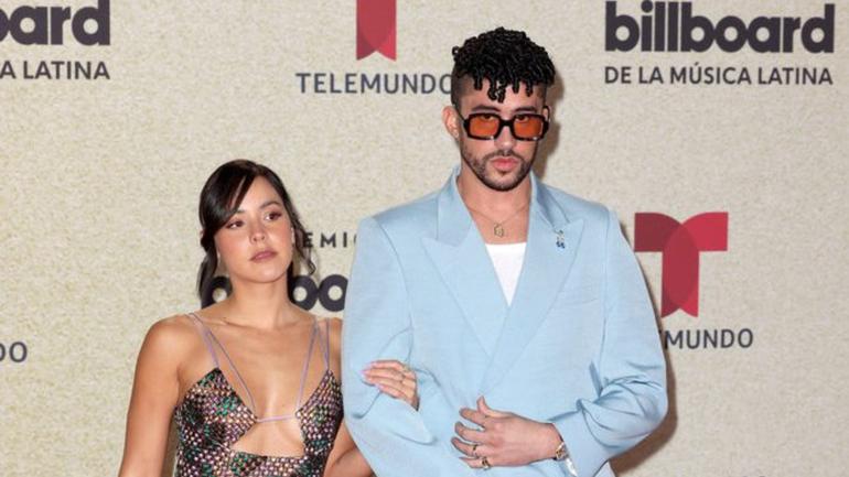 Bad Bunny se corona como el artista del año en la entrega de los Premios Billboard de la música latina
