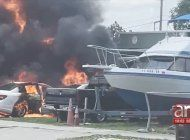 familia cubana de hialeah pierde sus cuatro autos tras incendio, entre ellos un mercedes benz c300
