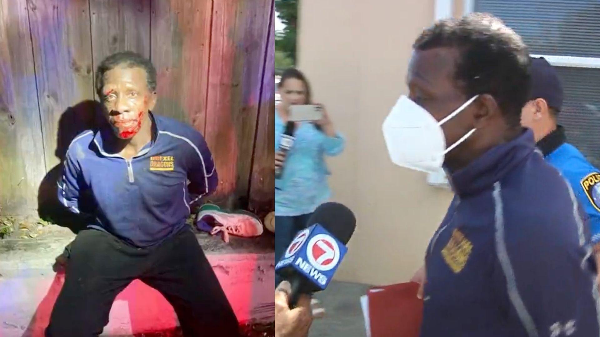 Finalmente arrestan al hombre que robó varias casas en Miami y le había disparado a la policía