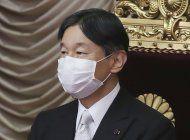 emperador de japon esta preocupado por unos juegos pandemia