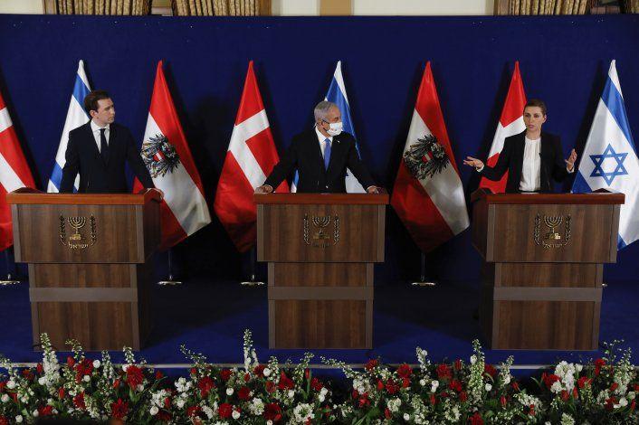 Israel, Dinamarca y Austria unen fuerzas contra el COVID-19