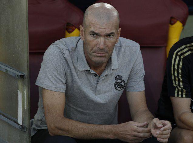 Zidane en la cuerda floja del Real Madrid