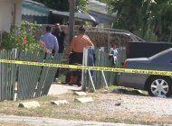 un hombre herido fue el saldo de un tiroteo reportado dentro de un apartamento en hollywood
