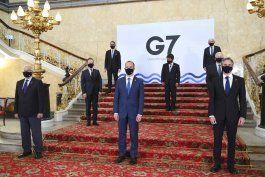 el g7 finalizo sus debates con criticas a china, rusia e iran