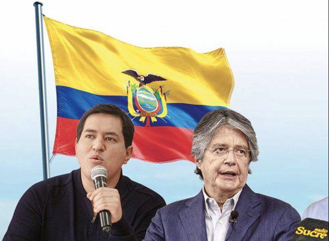 Elecciones en Ecuador: Guillermo Lasso prometió un país libre y democrático y Andrés Arauz animó a un voto de esperanza