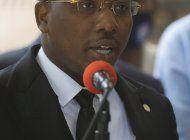 diplomaticos parecen desairar a gobernante interino de haiti