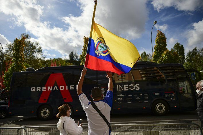 Carapaz, nuevo líder de la Vuelta a España