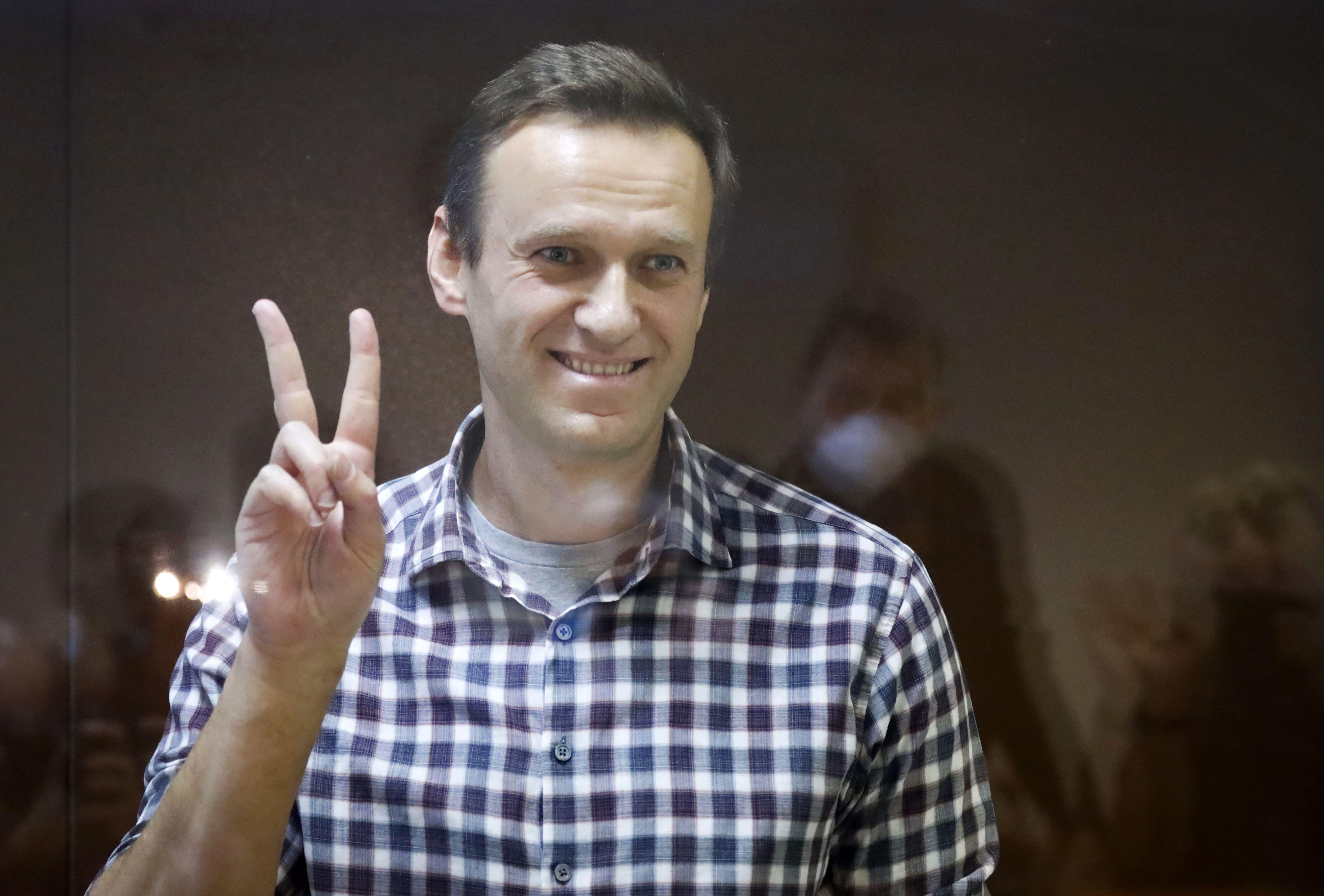 navalny recibe galardon de derechos humanos de la ue