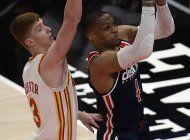 westbrook supera record de robertson en derrota de wizards