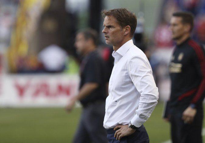 Frank de Boer, nuevo técnico de Holanda