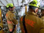 dificil mision de rescatar sobrevivientesdel edificio champlain tower en surfside