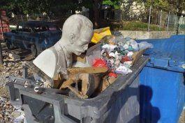 regimen destapa red que robaba contenedores plasticos de basura
