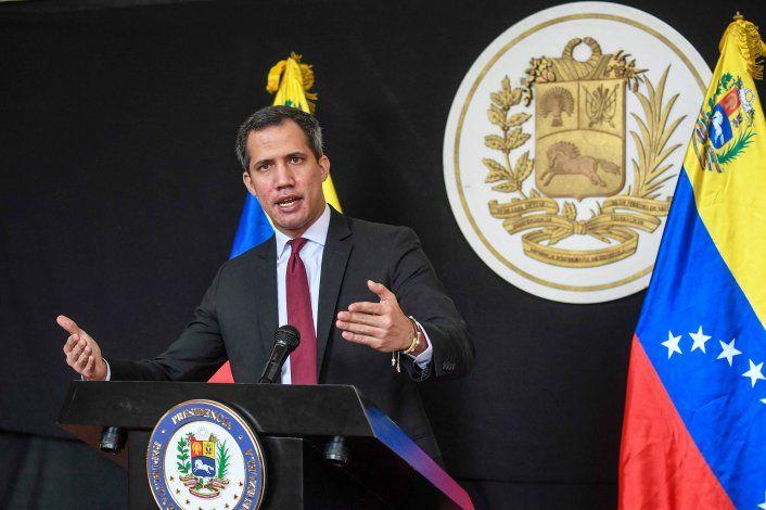 CARACAS: Guaido habla tras intento de secuestro