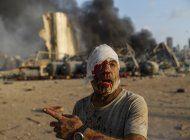 ordenan libertad de 7 detenidos tras explosion en beirut