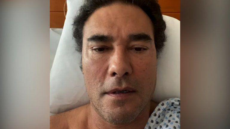 Eduardo Yáñez fue diagnosticado con cáncer y tiene miedo de morir