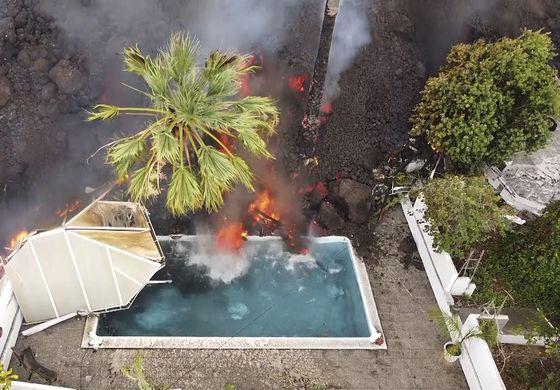 Nervios en isla española por amenaza de lava y sismos