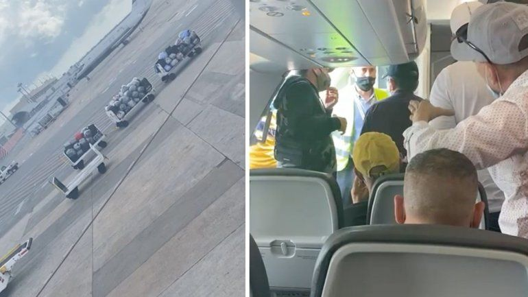 Bajan a los pasajeros de un vuelo Cancún-Camagüey por exceso de maletas