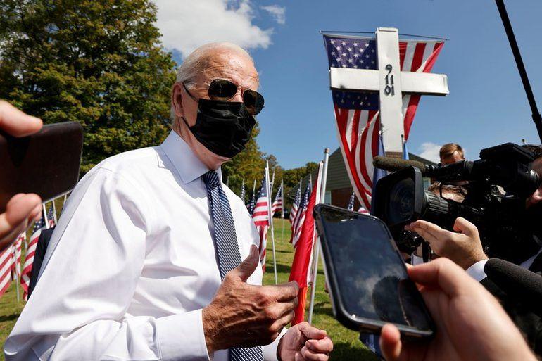En el aniversario del 11-S, Biden pidió unidad en EEUU