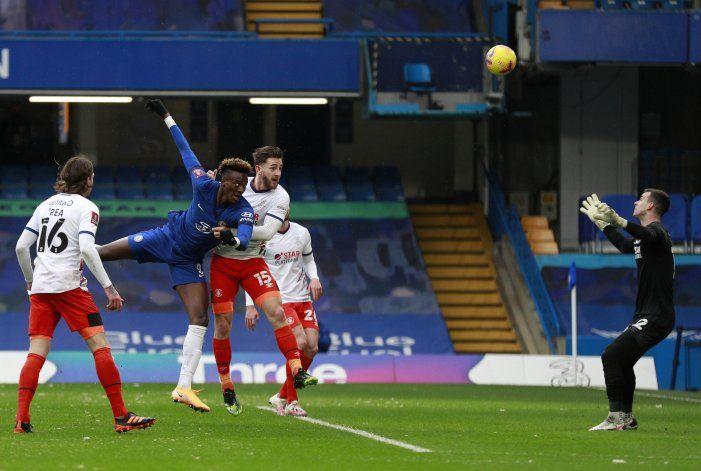 Chelsea avanza en la Copa FA gracias a tripleta de Abraham