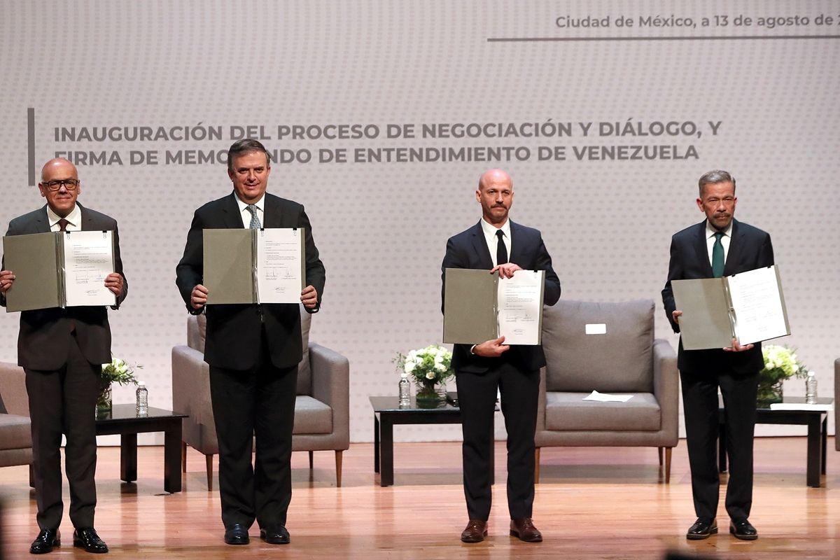 proxima ronda del dialogo en mexico se iniciara el 15 de octubre
