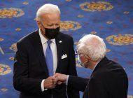 biden y sanders, dos viejos rivales que unen fuerzas