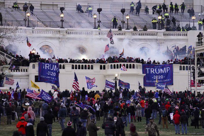 El Capitolio de EEUU no estaba preparado para asalto