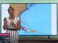 La meteoróloga cubana Ailyn Jústiz. Archivo.