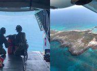seis cubanos naufragos en una isla son rescatados por la guardia costera de eeuu