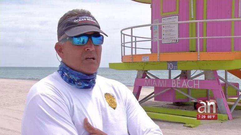 Las playas en Miami Beach reabrirán el miércoles 10 de junio de siete de la mañana a ocho de la noche