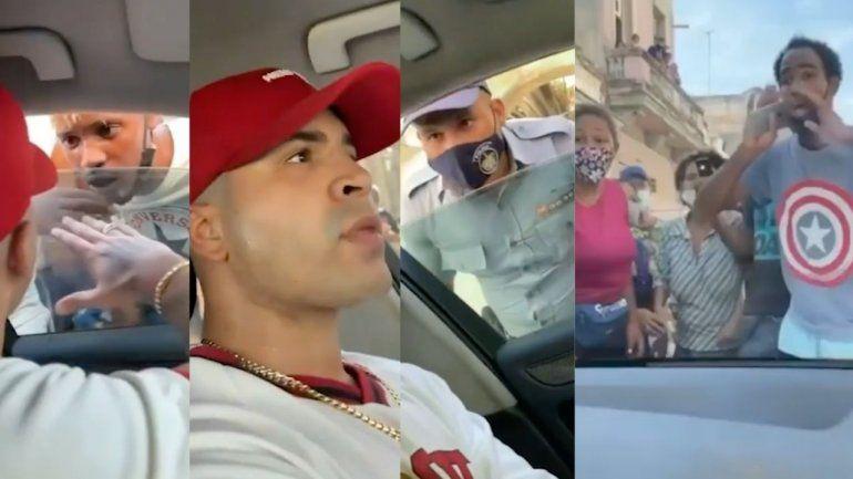 Yomil publica el video de su detención y de cómo el pueblo salió en su defensa