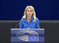 dita charanzova pide a la eurocamara suspender acuerdo con el regimen: cuba no esta cumpliendo con sus obligaciones