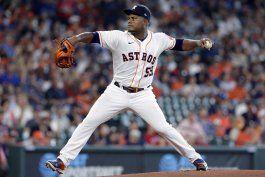 Astros pierden sin hit mixto en la 8va; Rangers en picada