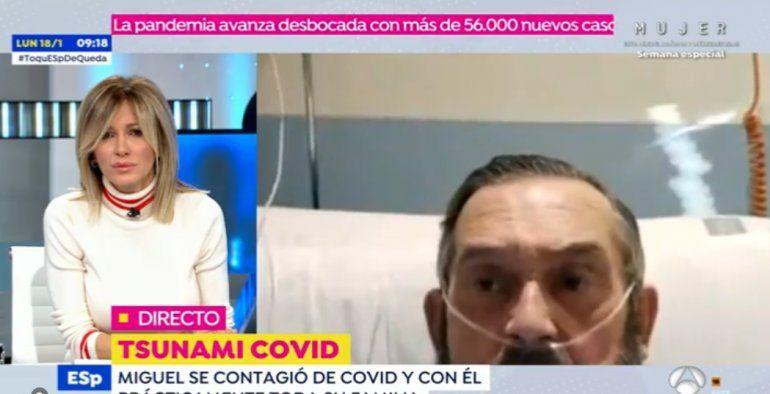 El emocionante testimonio de un anestesista con coronavirus: Sentí las garras de la muerte, esta cepa es mucho más mortal