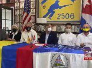 exiliados en miami piden la invocacion del tiar por crisis en colombia