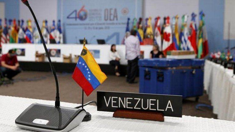 El Dictador Maduro advirtió que la OEA no entrará más nunca a Venezuela