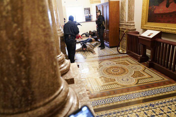 Ya no me siento segura en el Capitolio: Relato de periodista