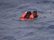 Una inmigrante de Cuba es rescatada en alta mar por la Guardia Costera de EEUU. Cortesía.