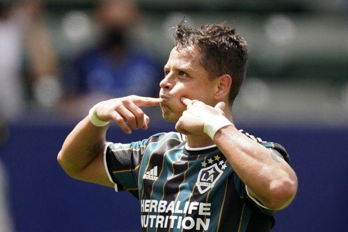 Chicharito aporta su 7mo gol; Galaxy vence a Austin