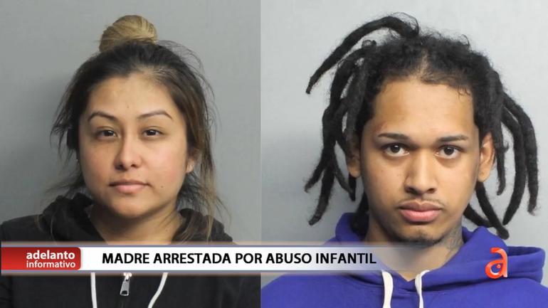 Miami: Tras las rejas una madre y su novio por golpear brutalmente a sus dos hijos de 7 y 4 años