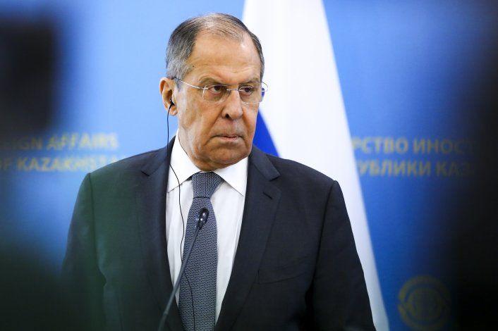 """Canciller de Rusia: Política de EEUU hacia Moscú es """"tonta"""""""