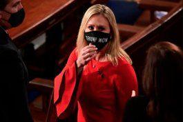 congresista republicana  presenta  acusacion de impeachment contra biden