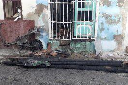 una fallecida y dos ninos graves tras el incendio de una moto electrica en sancti spiritus